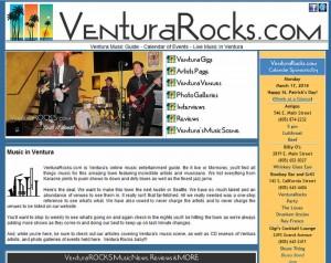 Ventura Rocks Homepage