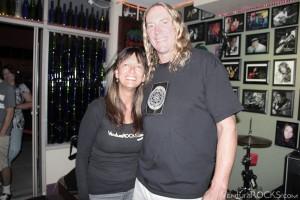Pam Baumgardner & Danny Carey