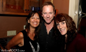 Pam Baumgardner, Kiefer Sutherland, Staci Brown