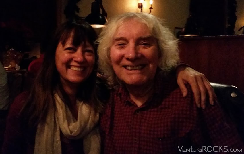 VenturaRock's Pam Baumgardner w/ Albert Lee