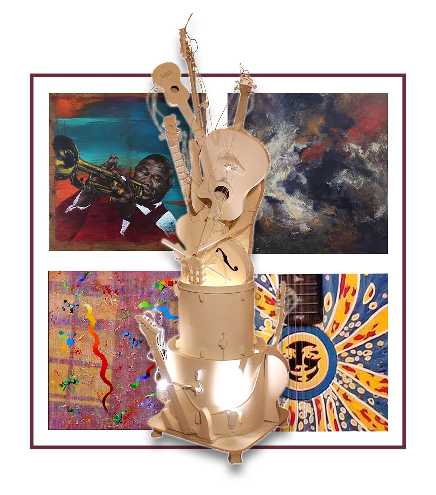 Good Vibrations: A Harmony of Art & Music at Very Ventura.