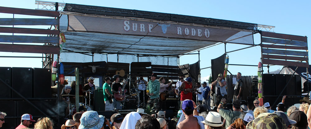 Raging Arb at Surf Rodeo