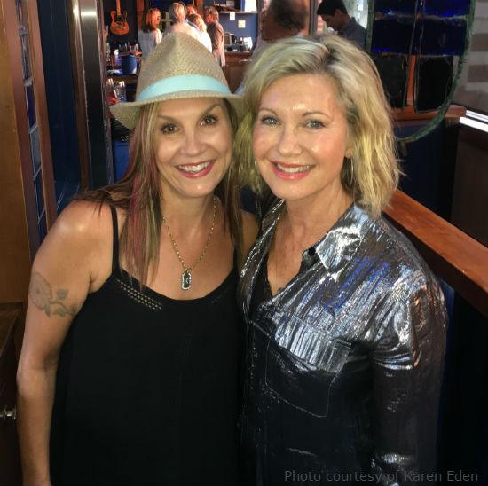 Karen and Olivia