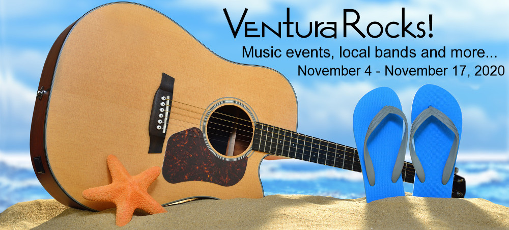 Graphic of Ventura Rocks in the Ventura Breeze