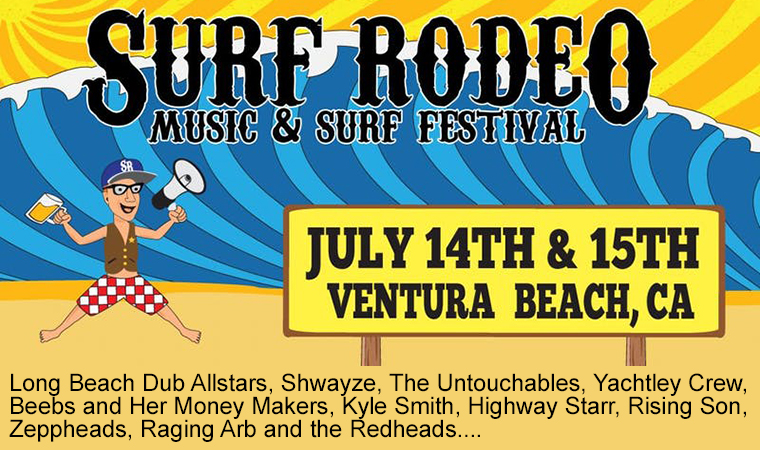 Surf Rodeo advertisement